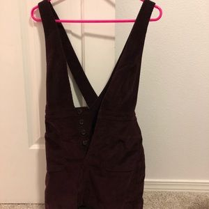 Free people overalls size 0